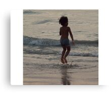 Little Jumping Bean Canvas Print