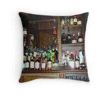 Open Bar Throw Pillow