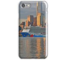 Cruise Ship Norwegian Breakaway on the Hudson River iPhone Case/Skin