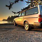 Sunset Bay Volvo by Bailey Sampson