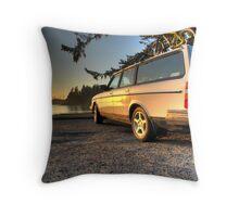 Sunset Bay Volvo Throw Pillow