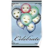 Celebrate - (Card sized) Poster