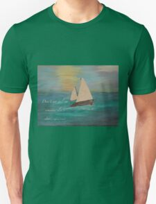 Sailing on Our Own Star Unisex T-Shirt
