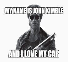 MY NAME IS JOHN KIMBLE Kids Clothes