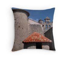 Montjoie en Couserans Throw Pillow