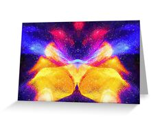 Abstract Emperor Greeting Card
