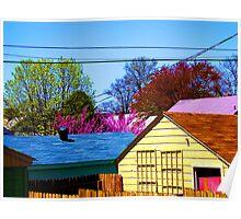 Neighborhood Skyline Poster
