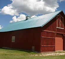 IRWIN BARN by Patricia Montgomery