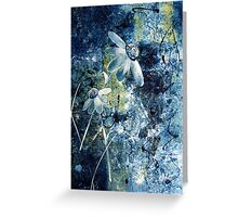 Blue Beauties Greeting Card