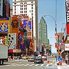 Times Square II by Tom Gomez