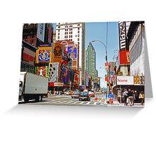 Times Square II Greeting Card