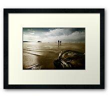 The Long Walk Framed Print