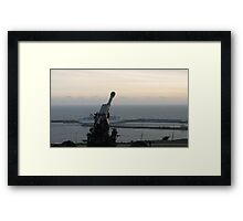 All Quiet in Dover Framed Print