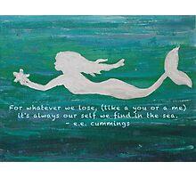 Mermaid Found Photographic Print