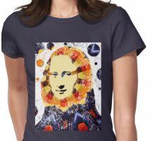 Mona Lisa t-shirt Womens Fitted T-Shirt
