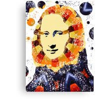 Mona Lisa poster Canvas Print