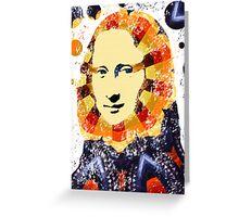 Mona Lisa poster Greeting Card
