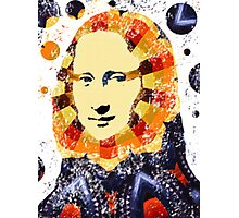 Mona Lisa poster Photographic Print