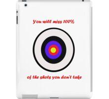 100% of shots iPad Case/Skin