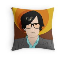 Jarvis Cocker Throw Pillow