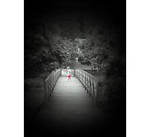 Lonely    ...bridge Photographic Print