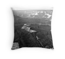 Grand Canyon Vista No. 4 Throw Pillow