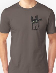 Toothless in your pocket  Unisex T-Shirt