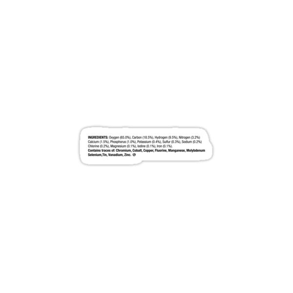 ingredients: horizontal {black} by animo