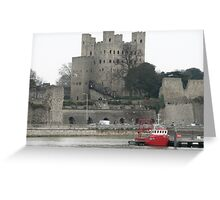 Rochester Castle England Greeting Card