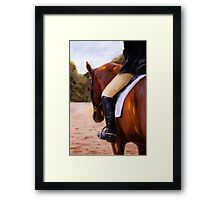 Waiting our Turn Framed Print