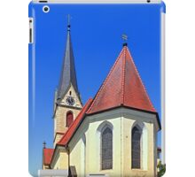 The village church of Allhaming II | architectural photography iPad Case/Skin
