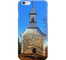 The village church of Hollerberg III | architectural photography iPhone Case/Skin