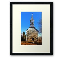 The village church of Hollerberg III | architectural photography Framed Print