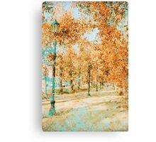 Chilean Autumn Canvas Print
