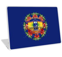 WHOVIAN SEASON GREETINGS Laptop Skin