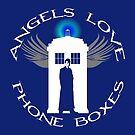 ANGELS LOVE PHONE BOXES  by karmadesigner