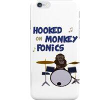Monkey fonics iPhone Case/Skin