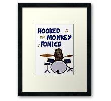 Monkey fonics Framed Print