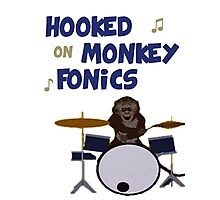 Monkey fonics Photographic Print