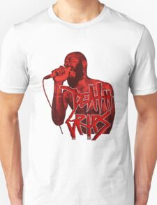 Death Grips | Colour Red Unisex T-Shirt