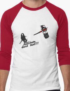 Machete dont text Men's Baseball ¾ T-Shirt