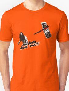 Machete dont text T-Shirt