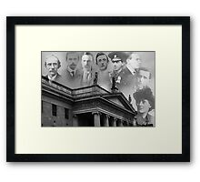 Remembering our 1916 heroes Framed Print