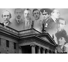 Remembering our 1916 heroes Photographic Print
