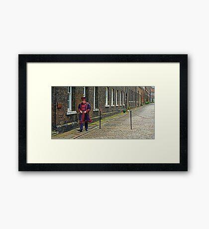 Hi-ho Framed Print
