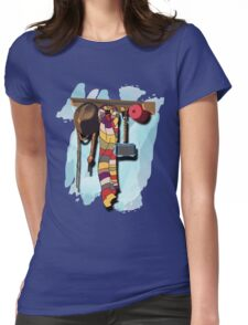 GUESS WHO'S COMING DINNER???  Womens Fitted T-Shirt