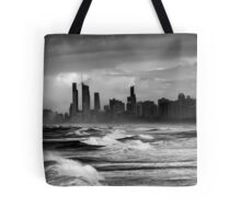 Rough Seas, Gold Coast, Australia Tote Bag