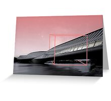BRIDGE BIX. Greeting Card
