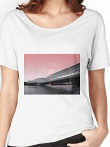 BRIDGE BIX. Women's Relaxed Fit T-Shirt