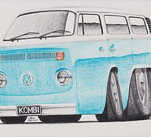 VW Kombi/Transporter by Glens Graphix by GlensGraphix